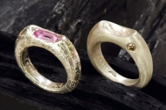 2-silver-rings-diamond-tourmaline