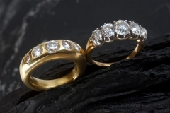 contemporary-traditional-gold-diamond-rings